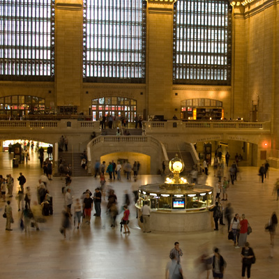 experience new york-Grand Central Terminal la gare de new york