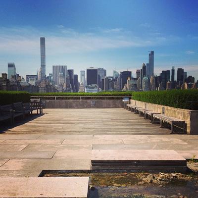 experience new york-terrasse du MET metropolitan museum