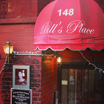 experience new york-bill's place in New York jazz club