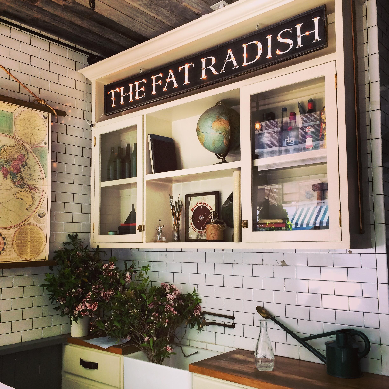 fat radish dans lower east side restaurant