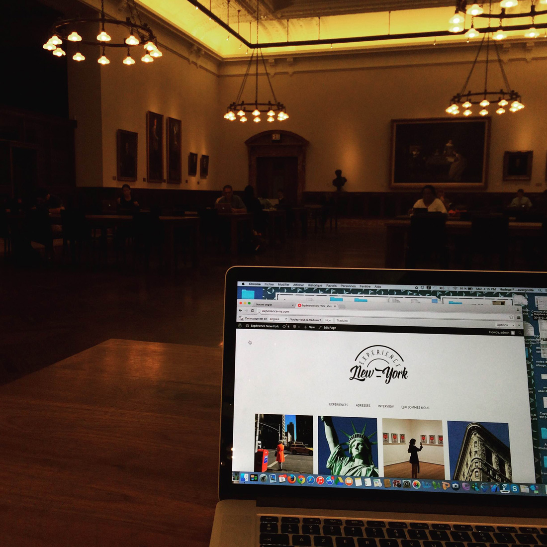 Experience new york need a good spot to work in manhattan for 125 park avenue 3rd 4th floor